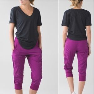 Lululemon In Flux Crop. Sz 10